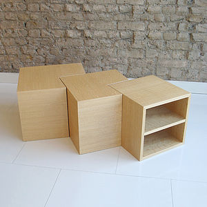 Wooden Nest Tables