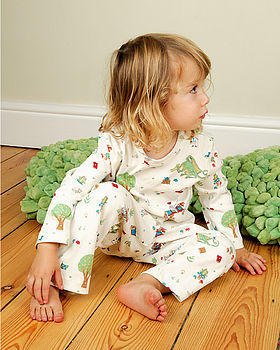 The Reluctant Dragon Pyjamas