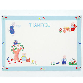 Three Little Pigs Thank You Pack