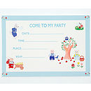 Three Little Pigs Invitation Pack