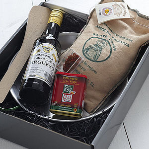 The Perfect Paella Kit - retirement gifts