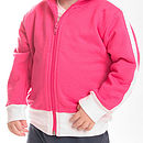 Pink Personalised Track Suit Top