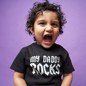 'My Daddy Rocks' T Shirt