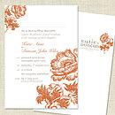 Wedding Stationery Sample Order