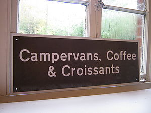 campervans coffee & croissants