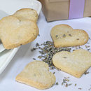 Heart Shortbread Biscuit Box