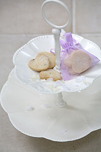 Wedding Favour Shortbread Biscuit Bags - unusual favours
