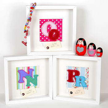 Personalised Girl Initial Pictures