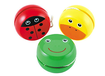 Yoyo, Duck, Ladybird or Frog