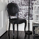Black Vintage Leather Chair