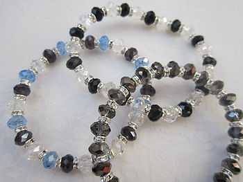 Childrens Crystal Rondell Bracelet