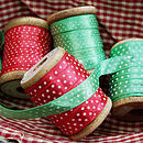 Ribbon: spots (2m lengths)