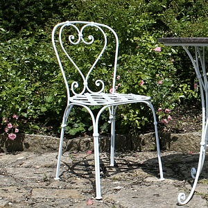 Parisienne Style Café Chair - garden furniture