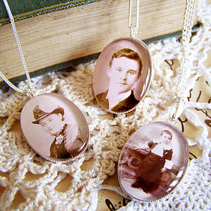 Your Own Photograph Charm Necklace