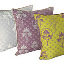 Organic Printed Cushion