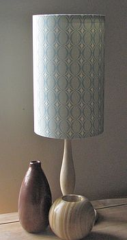 Handmade Lampshade Oval in the Sky