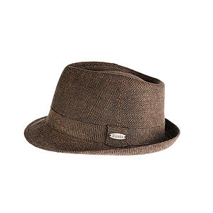 'Hoxton' Wool blend Trilby Hat - men's accessories