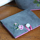 Pocket Mirror & Tissue Holder