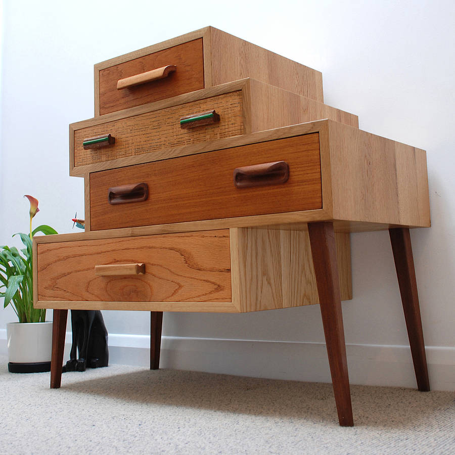 Affordable Retro Furniture: Drawers Again Drawer Unit By Dz Design