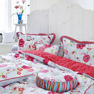 PiP Studio Birds of Paradise White Duvet set - bed, bath & table linen