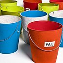 Pail Felt Storage Bucket