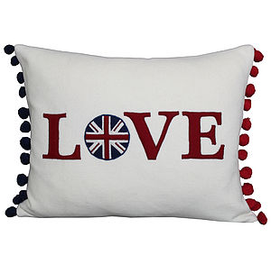 Wool Love Cushion - cushions