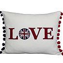 Wool Love Cushion
