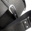 Black satchel detail 2