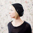 Organic Cotton Hayworth Beret Hat