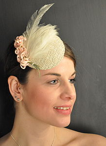 Vintage Lace Headpiece - hats & fascinators