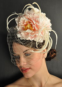 Peony Headpiece - hats & fascinators
