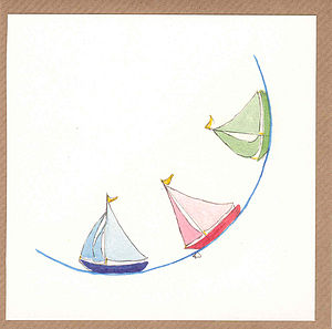 Beside The Sea Greetings Cards