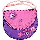 Purple & pink purse kit
