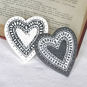 Heart Brooch - women's jewellery