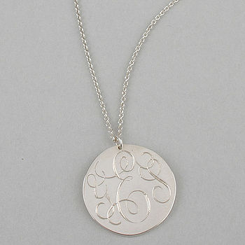 Silver YES Necklace
