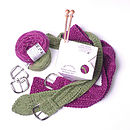 Belt Knitting Kit