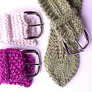 Knitted Belts