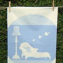 Flying Ducks Tea towel