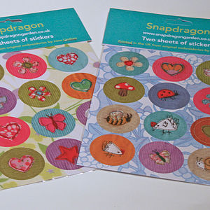Embroidery Sticker Set
