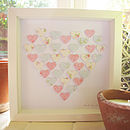 Heart of Hearts Picture in Pastels Colour Scheme