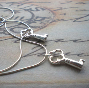 Silver Key Necklace - necklaces & pendants