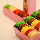 L'orchidee Macarons Boxes of Eight and Sixteen