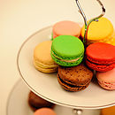 Afternoon tea with L'orchidee Macarons