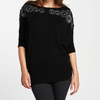 Beaded Batwing Jumper 20% Off