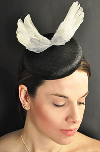 Wings Disc Fascinator - hats & fascinators