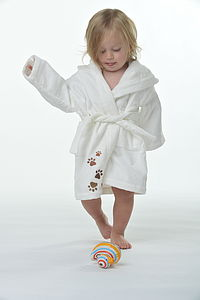 My Munchkin Toddlers' Organic Bathrobe - swimwear & beachwear
