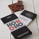 Personalised Xmas Chocolate Bars