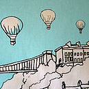 'Clifton Balloons' Tea Towel detail