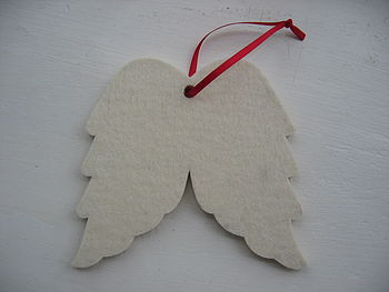 Felt Angel Wings