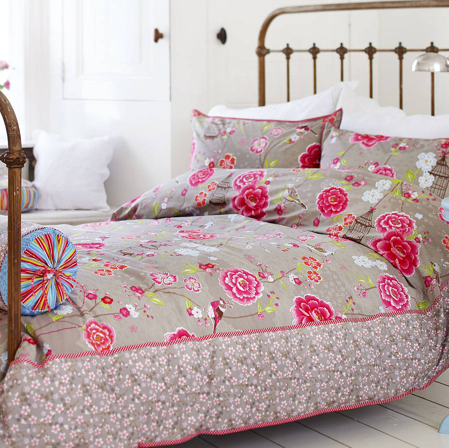 Birds Of Paradise Duvet Set By Fifty One Percent